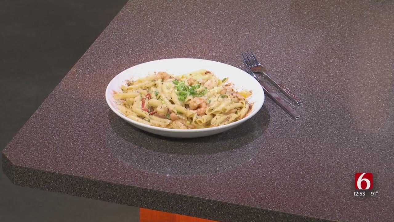 Cooking Corner: Jerk Rubbed Shrimp Rasta Pasta