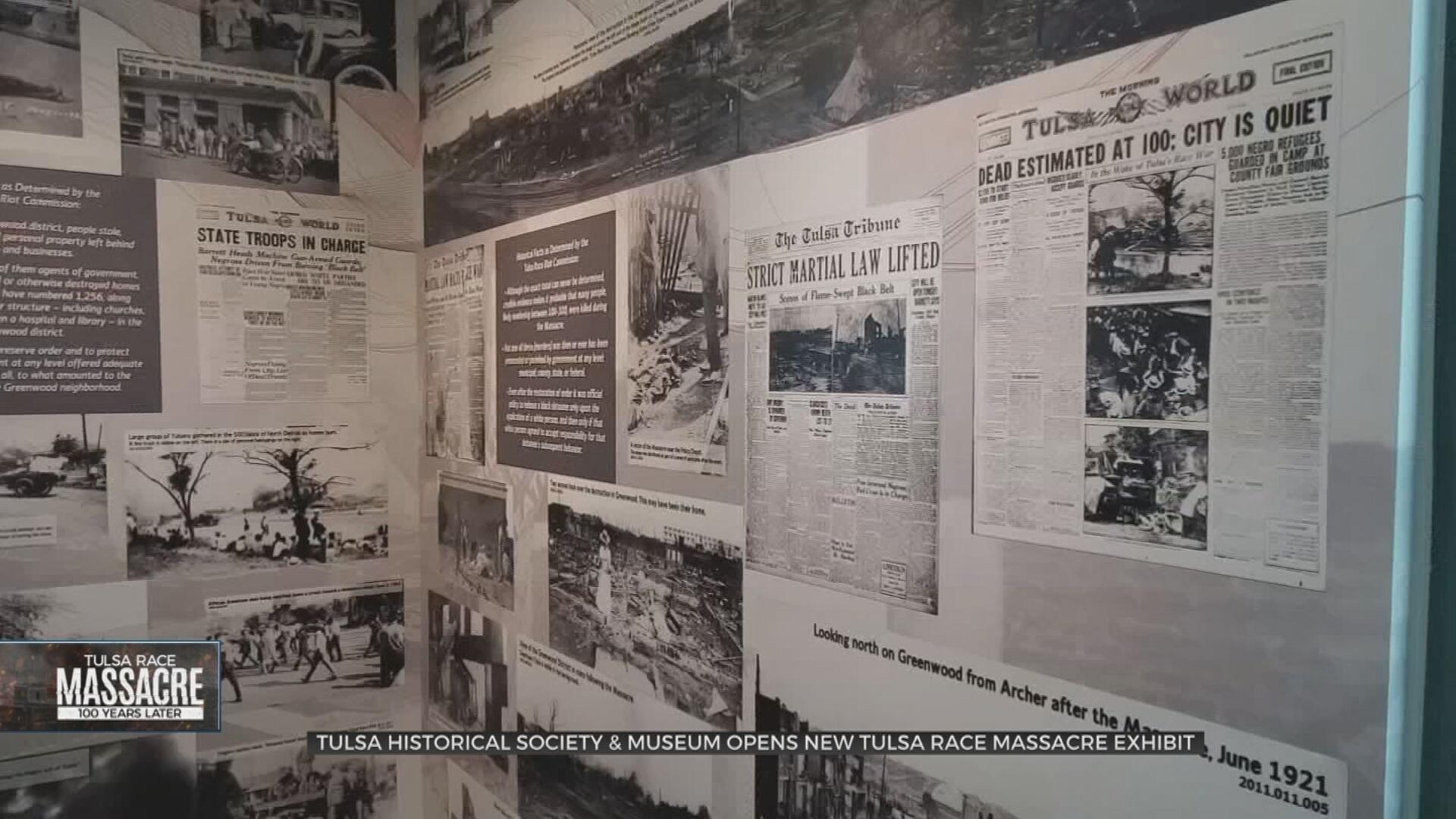 Tulsa Historical Society's New Exhibit Documents Destruction, Recovery After Race Massacre