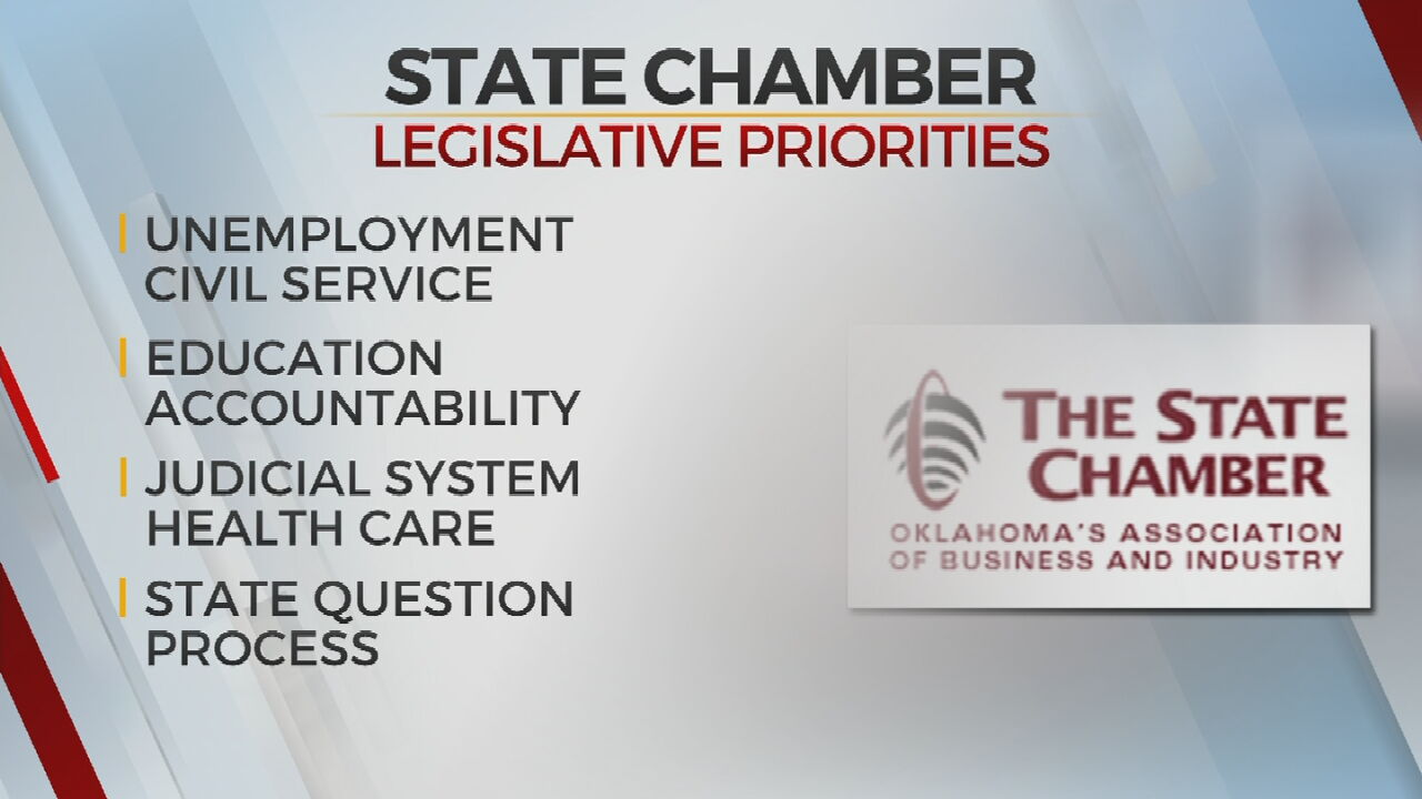 State Chamber Of Oklahoma Announces Priorities For 2021 Legislative Session