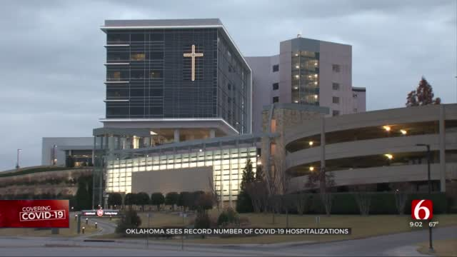 Oklahoma Sees Another Day Of Record COVID-19 Hospitalizations
