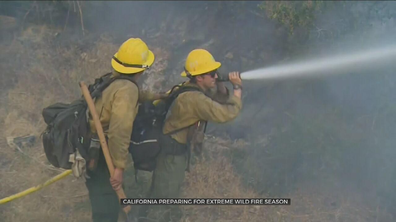 California Preparing For Extreme Wildfire Season