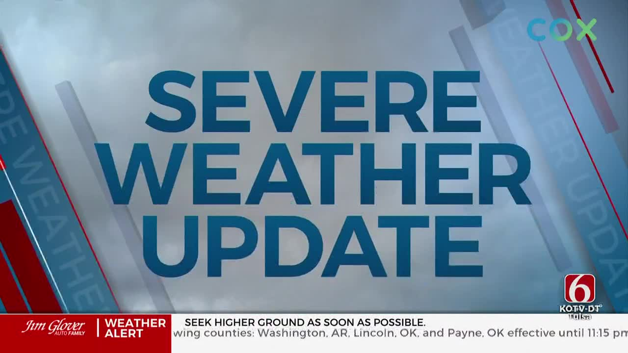 Severe Weather Update (11 p.m.)