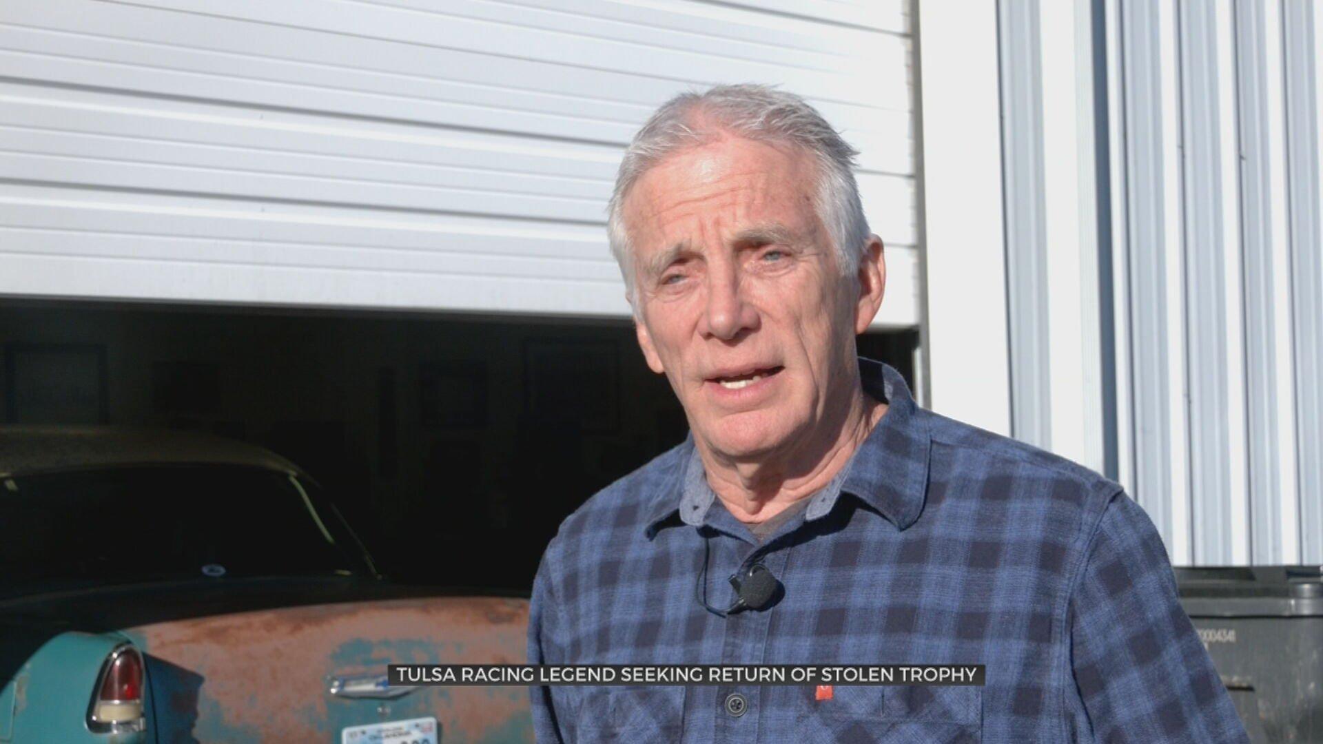 Tulsa Racing Legend Hopes For Safe Return Of Prized Stolen Trophy