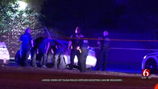 Judge Rules Body Cam Video To Be Released In Case Of Suspect Accused Of Shooting Tulsa Officers