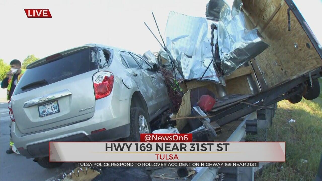 Emergency Crews Respond To Multi-Vehicle Crash On US-169