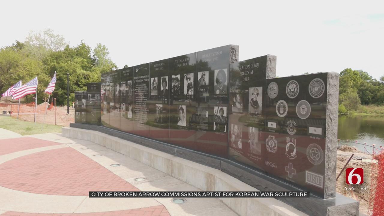 Broken Arrow Artist Begins Work On Statue For Korean War Veterans