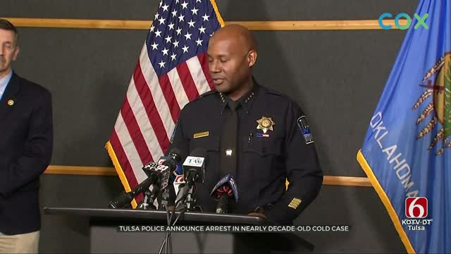 Tulsa Police Announce Arrest In 2011 Murder Case