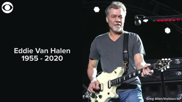 Rock Legend Eddie Van Halen Dead At 65, Family Confirms