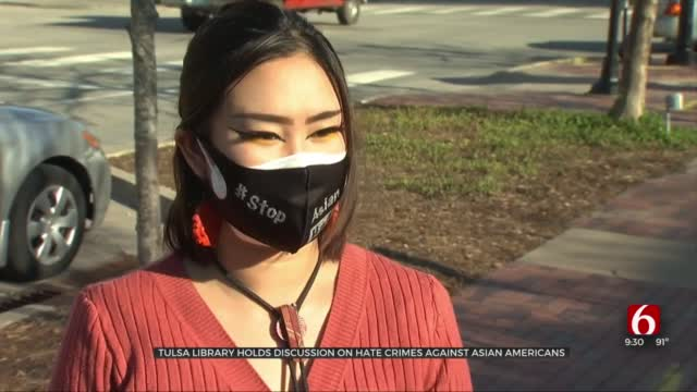 Tulsa Library Hosts Discussion On Hate Crimes Against Asian Americans Across The Country