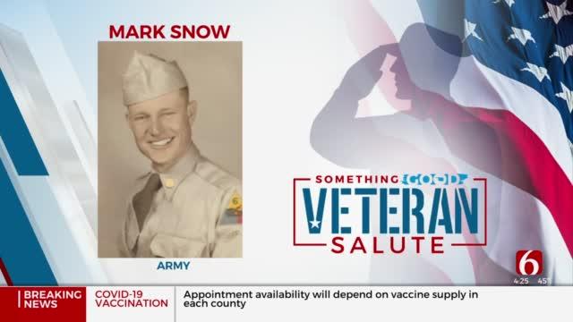 Veteran Salute: Mark Snow