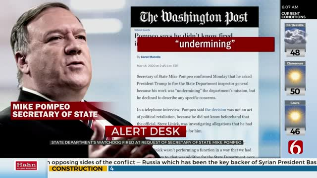 President Trump Fires Inspector General