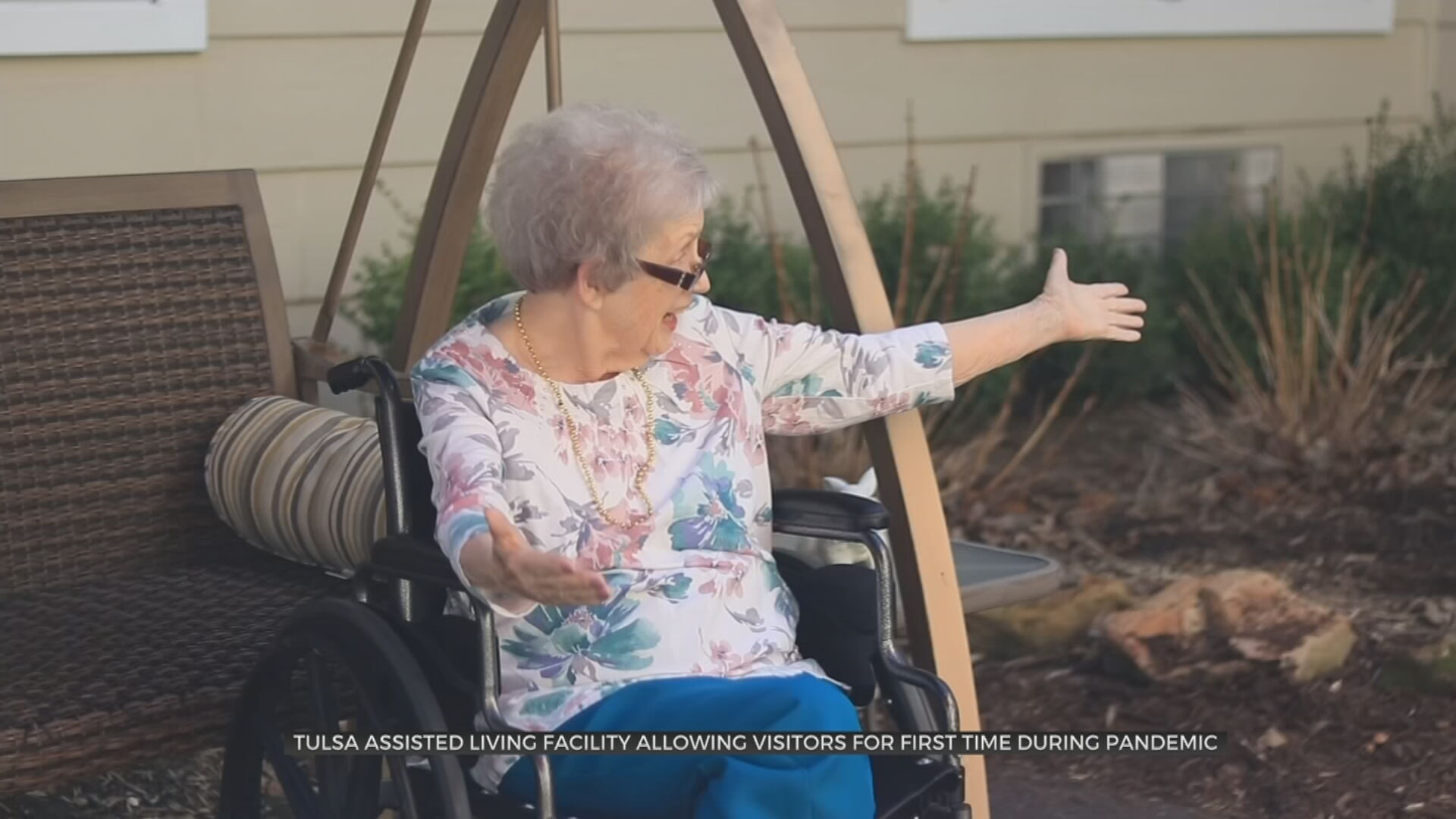 Tulsa Family Reunited As Assisted Living Facility Visitation Restrictions Ease