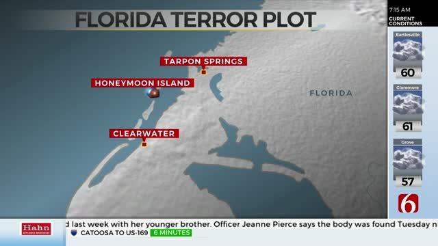 Florida Man Accused Of Plotting Terrorist Attacks, FBI Says