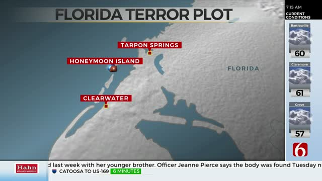 Florida Man Accused Of Plotting Terrorist Attacks, FBI Says
