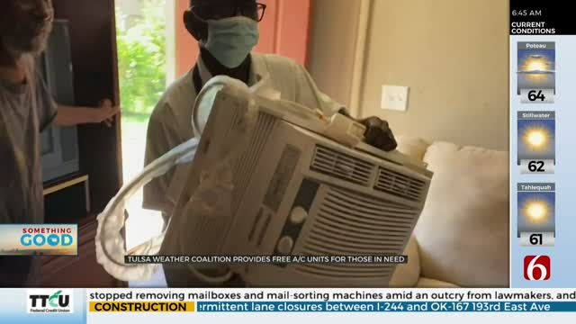 Something Good: Group Helps Tulsa Man In Need Of A/C