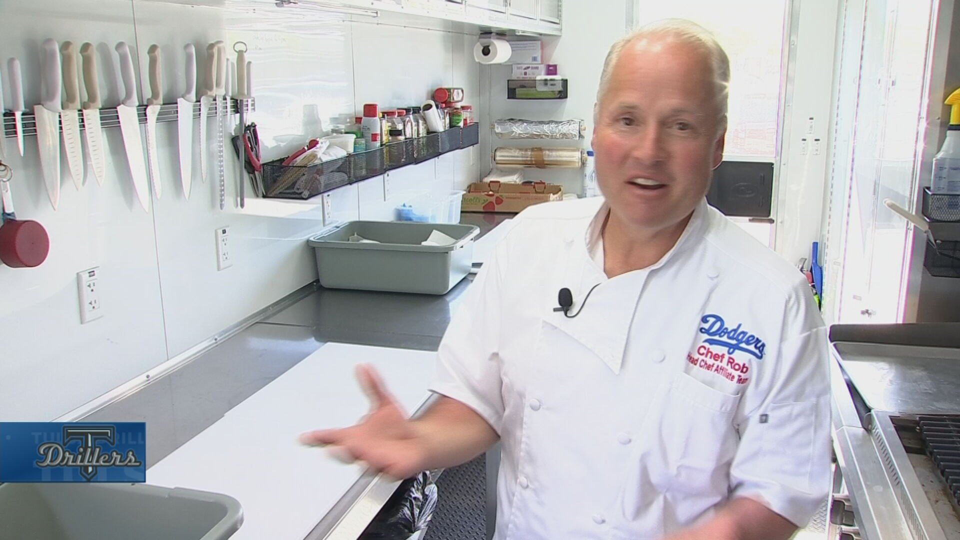 Tulsa Drillers' Team Chef Helps Cook Up Recipe For Success