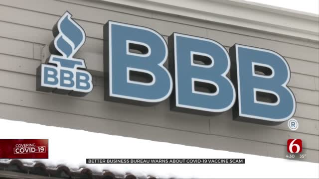 Better Business Bureau Warns Of COVID-19 Vaccine Scams