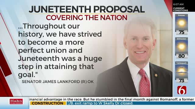 Oklahoma Senator Proposes Replacing Columbus Day With Juneteenth As Federal Holiday