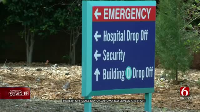 ICU Levels Remain High, Health Officials Say