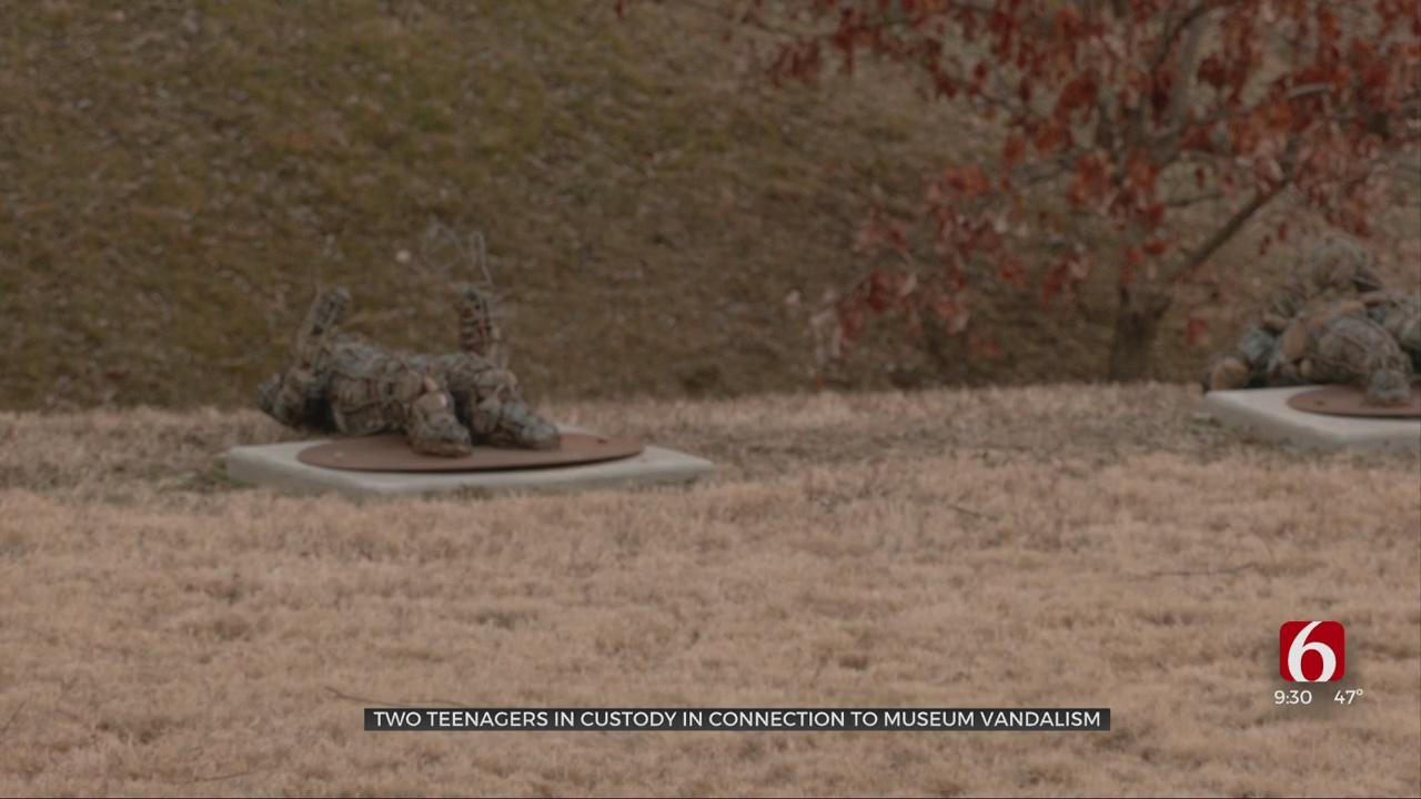 Tulsa Police Arrest 2 Teens Suspected Of Vandalizing Holocaust Memorials