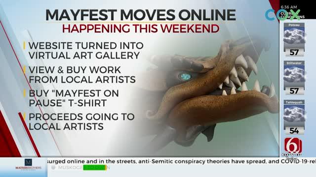 Tulsa Mayfest Goes Digital, Launches Virtual Art Gallery Due To Coronavirus (COVID-19) Pandemic