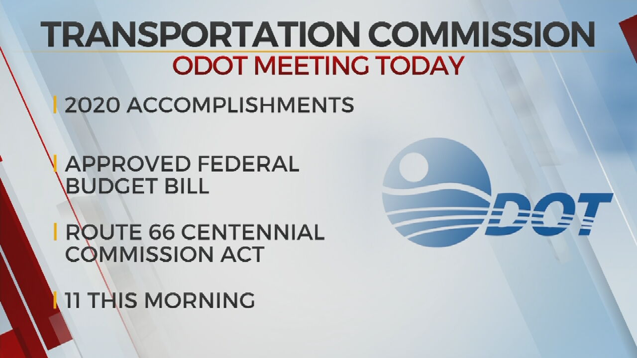 Oklahoma Transportation Commission To Hold First Meeting Of 2021