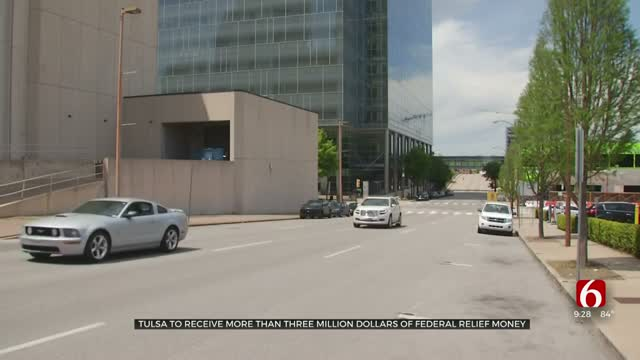 City Of Tulsa To Receive Over $3 Million In Relief Funding