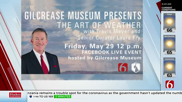Travis Meyer Teams Up With The Gilcrease Museum For 'The Art Of Weather' Event