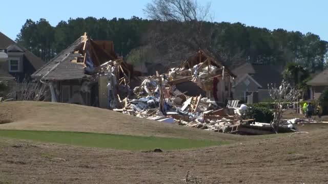 "Deadly Tornado Sounding ""Like A Train"" Strikes Coastal North Carolina Town"