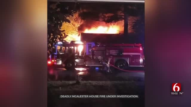 2 Killed In McAlester House Fire, Investigation Ongoing