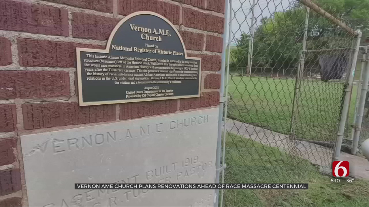 Vernon Chapel AME Church Planning, Fundraising For Major Repairs