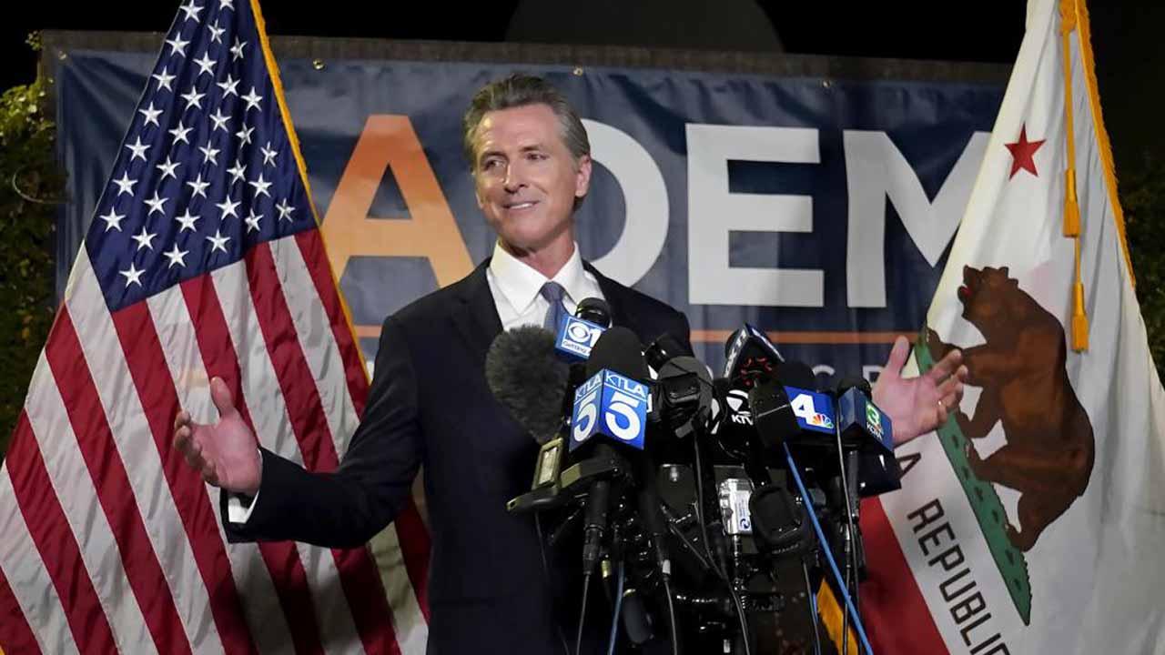 California Governor Gavin Newsom Beats Back GOP-Led Recall