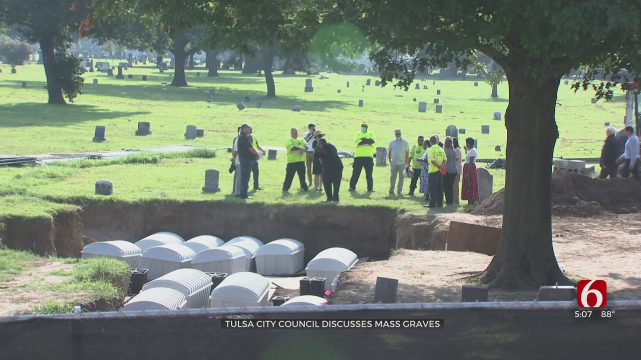 Mass Graves Oversight Committee Concerned About Communication With City Of Tulsa