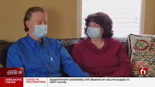 Rogers County Couple Travels 420 Miles For COVID-19 Vaccine