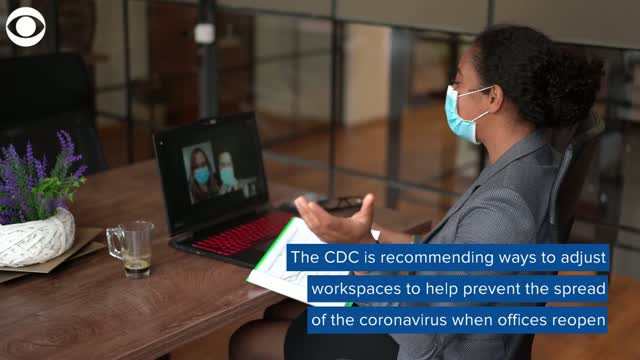 CDC Offers Guidelines For When Offices Reopen