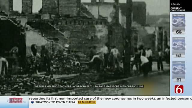 Tulsa Race Massacre Centennial Commission, TPS Holding Webinar For Teachers