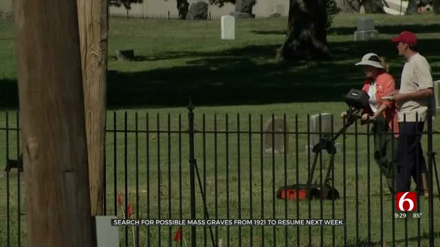 Search For Possible Mass Graves From 1921 To Resume
