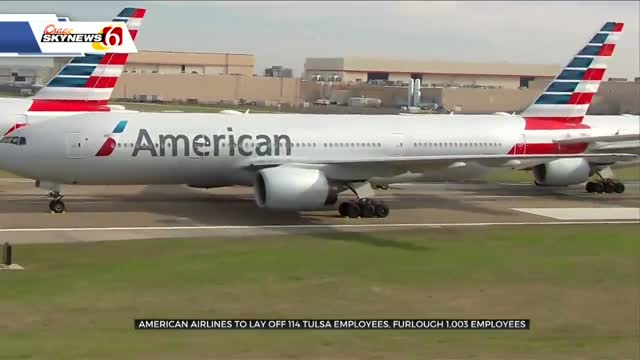 American Airlines To Lay Off 114 Tulsa Employees, Furlough 1,003 More
