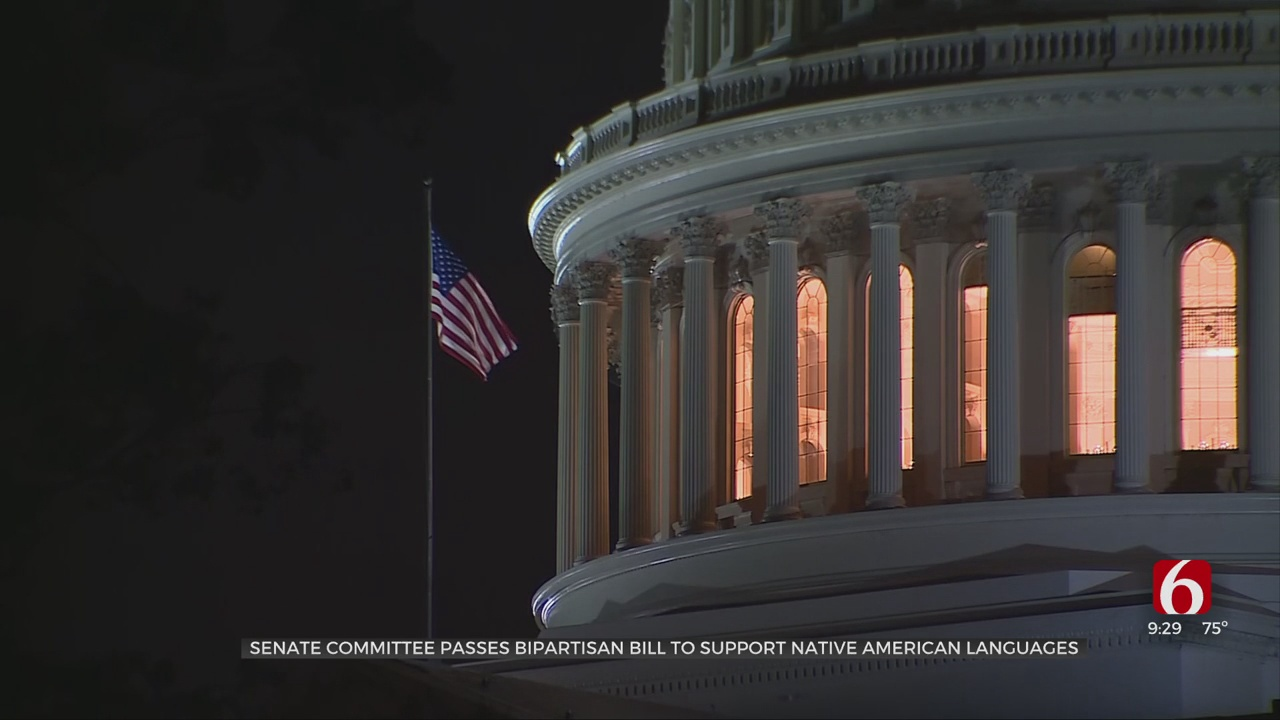 Senate Committee Passes Bipartisan Bill To Protect Native American Languages