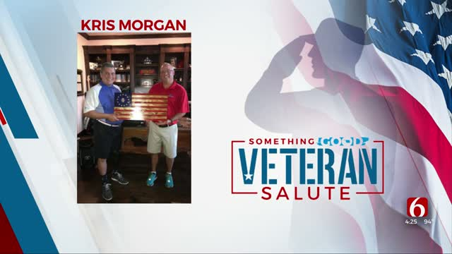 Veteran Of The Day: Kris Morgan