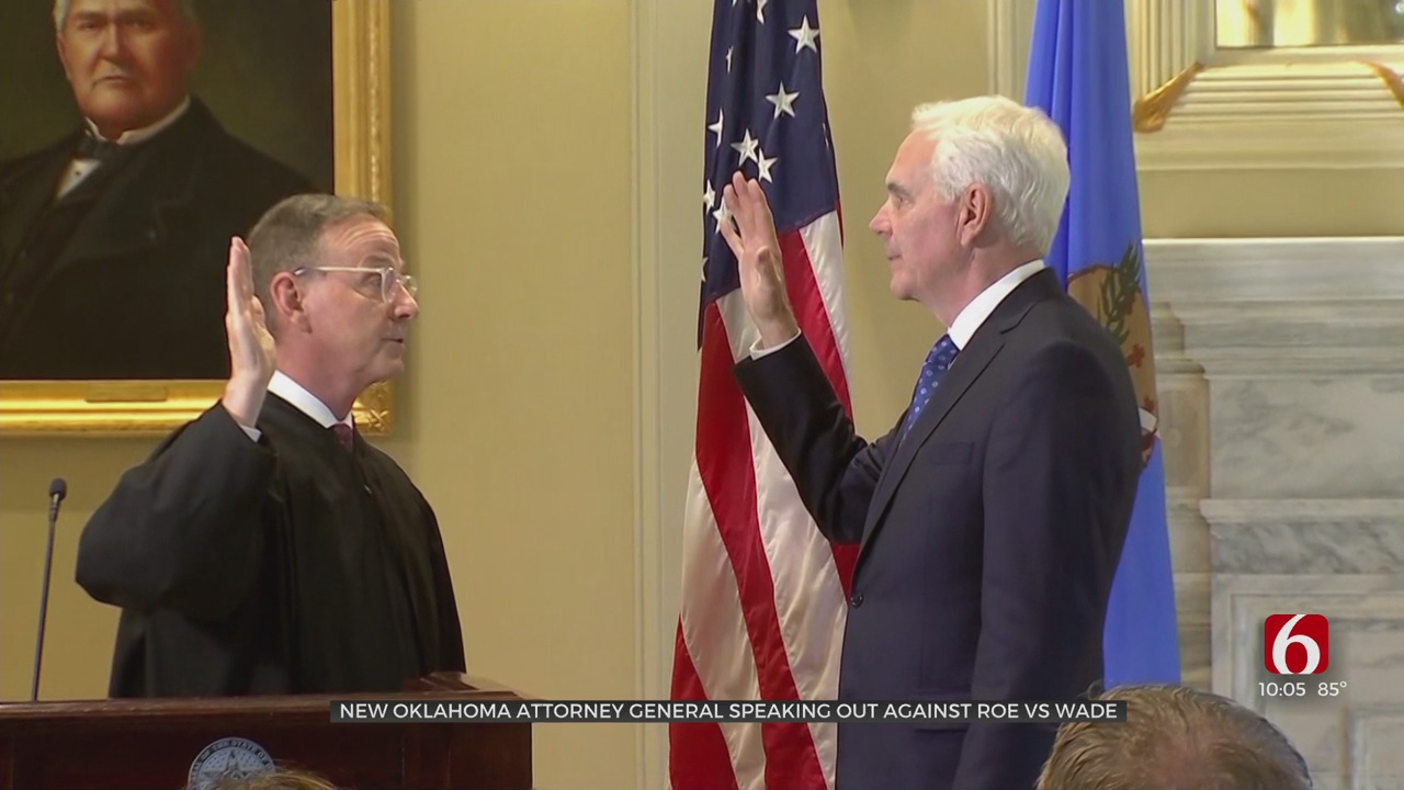 Oklahoma AG O'Connor Asks To Overturn Roe V. Wade; 23 Attorneys General Sign On To Brief