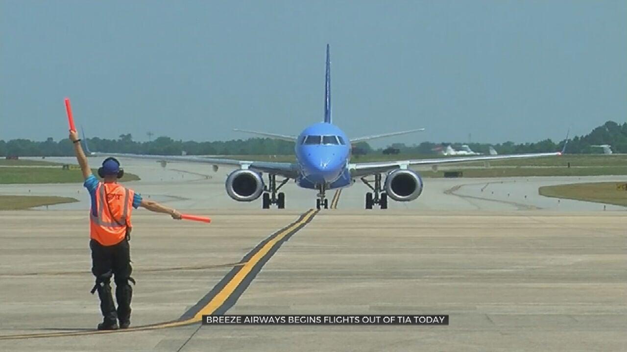 First Breeze Airways Flight To Depart From Tulsa International Airport