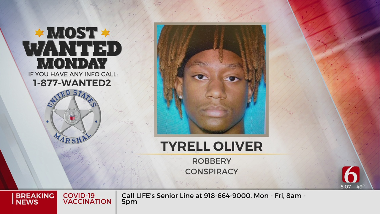 US Marshals Searching For Wanted Armed Robbery Suspect In Tulsa