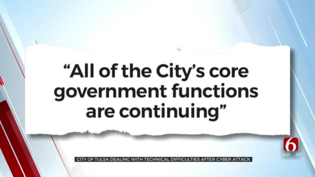 City Of Tulsa Computer System Impacted By Cyberattack