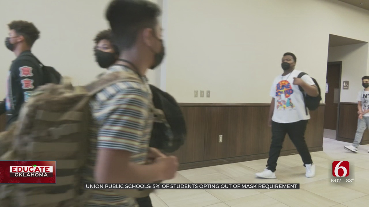 5 Percent Of Union Students Opt-Out As Mask Mandate Begins