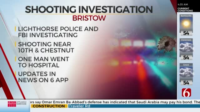 FBI Joins Police To Investigate Bristow Shooting