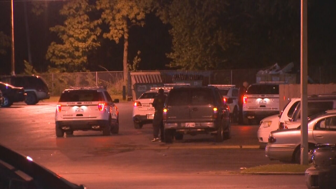 Police Search For Suspect Involved In Shooting At Tulsa Apartment Complex