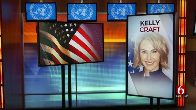 Watch: U.S. Ambassador To The United Nations Stops By News On 6