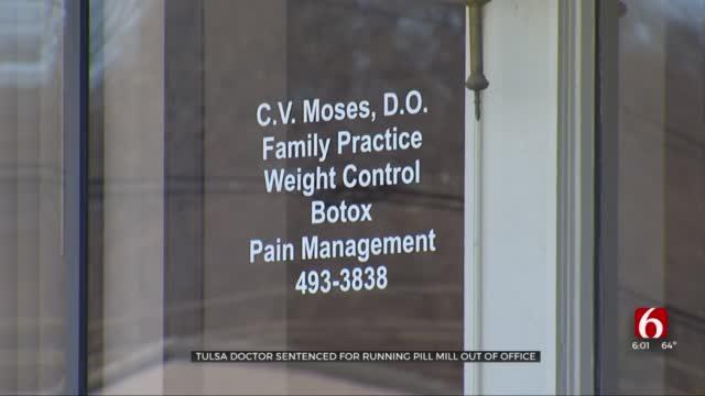 Tulsa Doctor Sentenced For Running Pill Mill From His Office