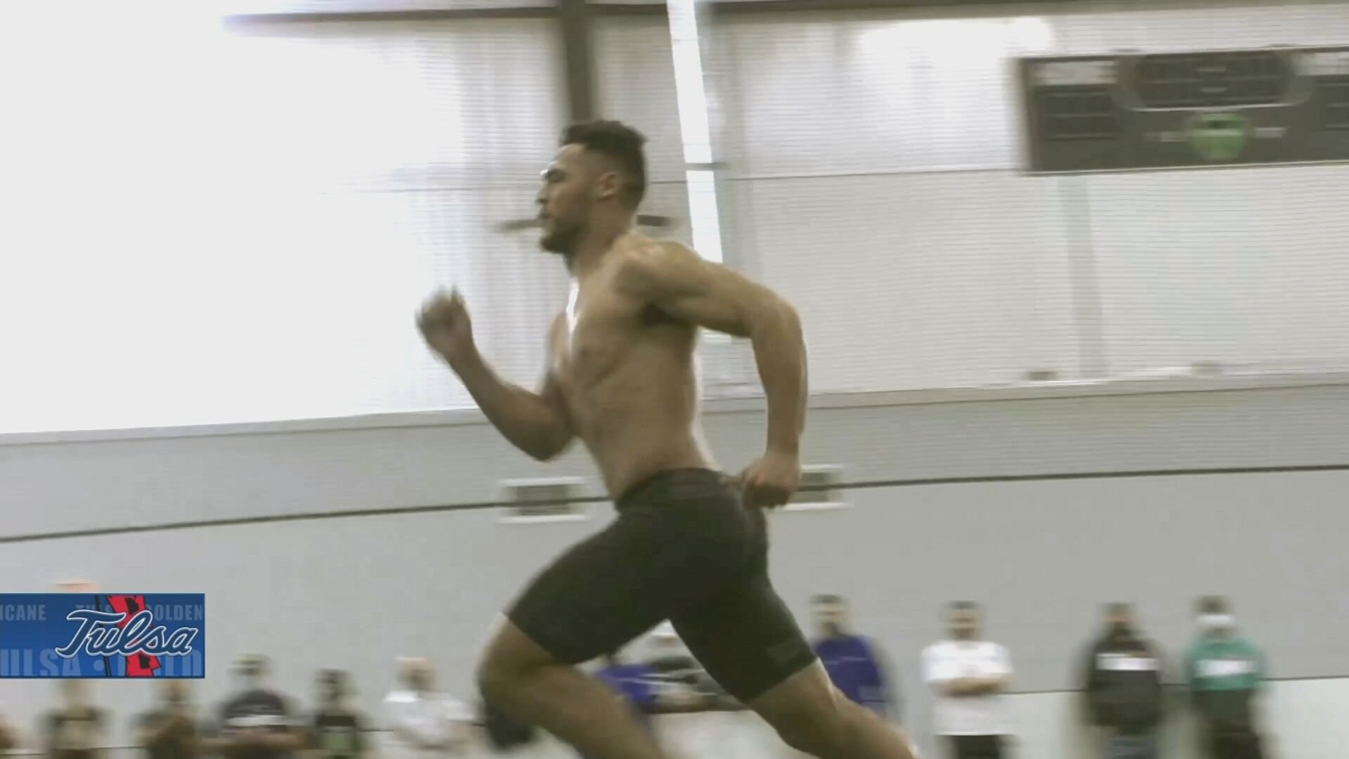 From Hominy To Hopefully The NFL, Zaven Collins Impresses At Pro Day